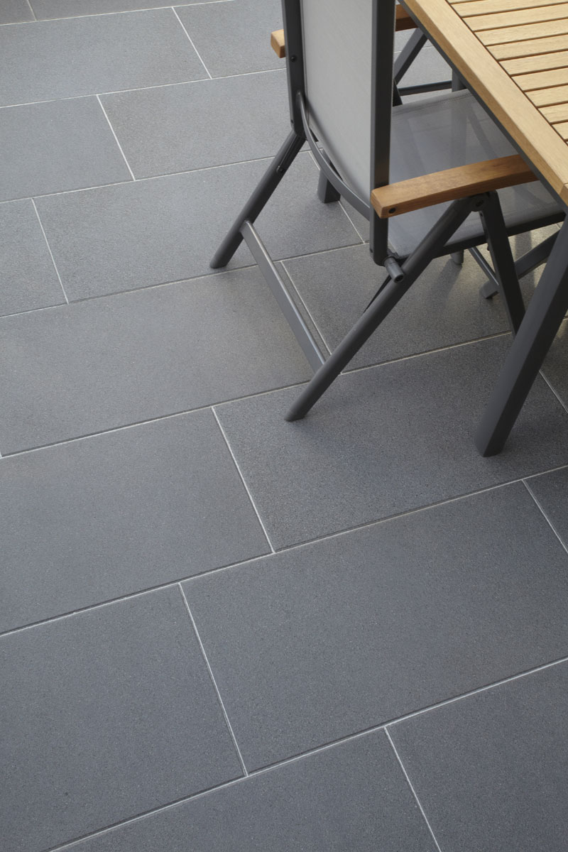 Ferrara-Platte<br>CleanControl carelevel 4<br>Farbe: basalt-anthrazit (670)